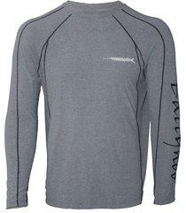 camiseta masculina track 899 manga longa fps+50 - ballyhoo