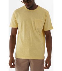 ymc wild ones pocket t-shirt - yellow p6lad