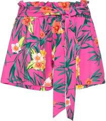 shorts con fiocco (fucsia) - bodyflirt