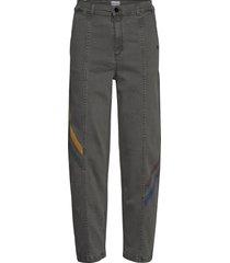 colored line denim rechte jeans grijs bobo choses