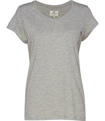 ashley jersey tee t-shirts & tops short-sleeved grå lexington clothing