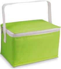 bolsa tã©rmica pequena basic topget  verde claro - verde - dafiti