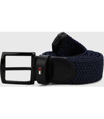 cinturón azul-negro tommy hilfiger