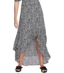 1.state folk floral-print skirt