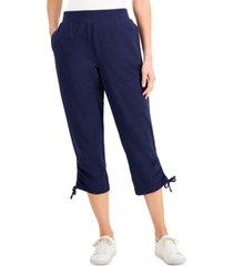 karen scott pull-on capri pants, created for macy's