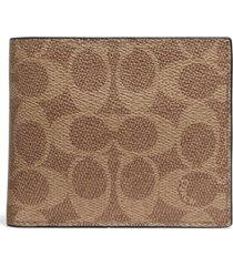 men's coach 3-in-1 signature wallet -