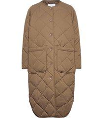 ruth coat 12852 doorgestikte jas beige samsøe samsøe