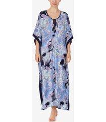 ellen tracy knit caftan nightgown