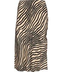 tassiala knälång kjol brun by malene birger