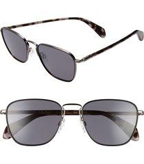 men's rag & bone 54mm polarized navigator sunglasses -