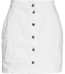 celie skirt kort kjol vit by malina