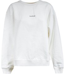 acne studios chest logo sweatshirt