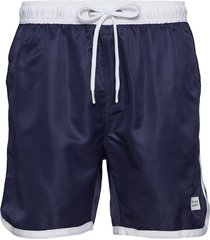 st paul long bermuda shorts badshorts blå frank dandy