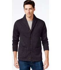 levi's men's sweater knit fleece cardigan
