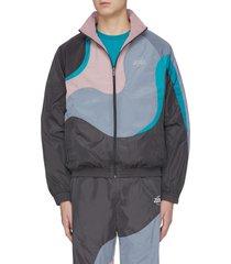 'jasah' colourblock track jacket