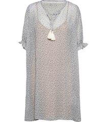 crkinia short dress dresses everyday dresses blå cream