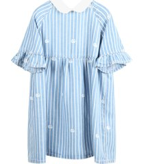 gucci light blue dress for babygirl with double gg