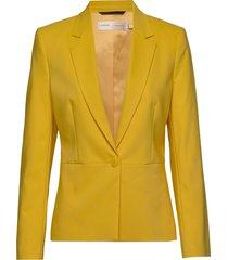 zella blazer blazer kavaj gul inwear