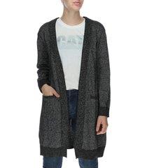 sweater mujer lyra sweater algodón gris cat