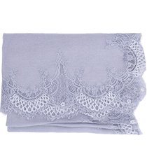 lace border shawl