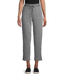 c & c california women's pull -on jogger pants - pink - size l