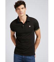 koszulka polo z mieszanki bawełny ze stretchem