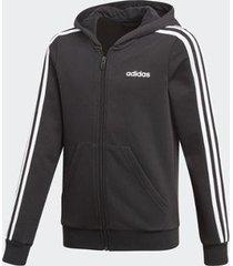 jaqueta adidas capuz essentials 3stripes