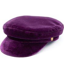 manokhi x toukitsou greek fisherman hat - purple
