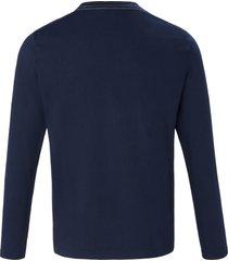 t-shirt 100% katoen van gant blauw