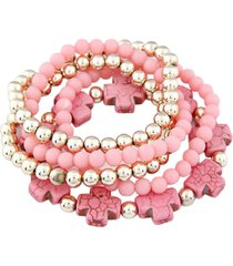 pulsera rosa sasmon pu-10863