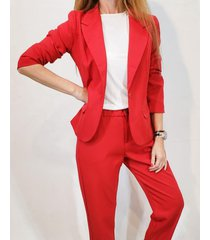 blazer rojo  montjuic luca