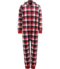 matching men's buffalo check onesie family pajamas, created for macy's