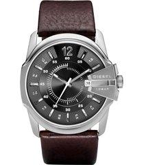 reloj análogo café diesel