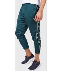 pantalón verde reebok classic vector tape tp deetea