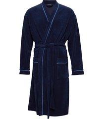 bath robe morgonrock badrock blå schiesser