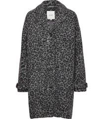 tanya coat yllerock rock grå masai
