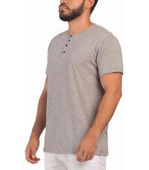 camiseta gris frank pierce 4 botones x2004