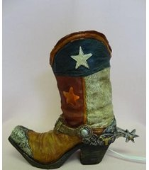americana cowboy oil/tart warmer - use with scentsy & yankee candle wax