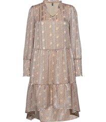 cunajiba dress jurk knielengte crème culture