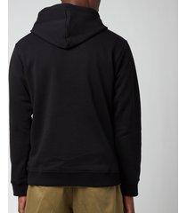 kenzo men's tiger seasonal hoodie - black - xs