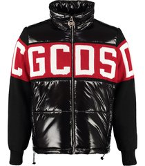 gcds knitted detail down jacket