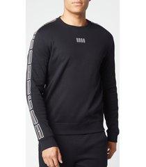 hugo men's doby203 sweatshirt - black - xxl