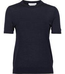 falyssa t-shirts & tops short-sleeved blå boss