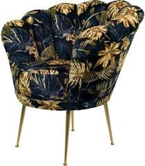 fotel muszelka monstera tapicerowany lux-3