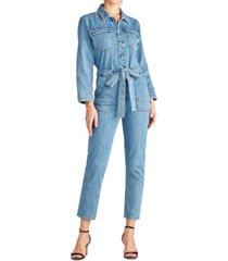 sam edelman denim the coverall denim jumpsuit