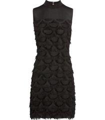 abito con applicazioni (nero) - bodyflirt boutique
