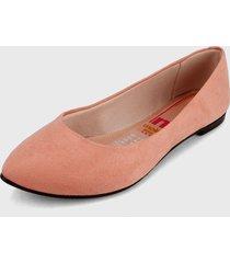 baleta rosa celeste moleca