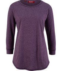 maglia lunga con maniche a 3/4 (viola) - john baner jeanswear