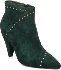 boot shoes boots ankle boots ankle boot - heel grön sofie schnoor