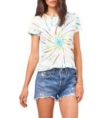 1.state crewneck tie dye t-shirt, size x-large in tie dye multi at nordstrom
